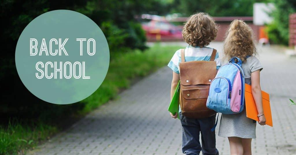 Back to school blog image